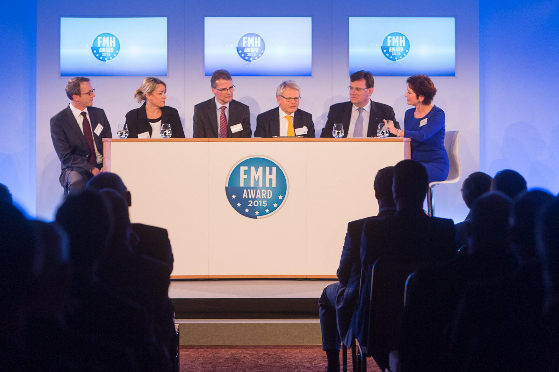 Podiumsdiskussion FMH Award