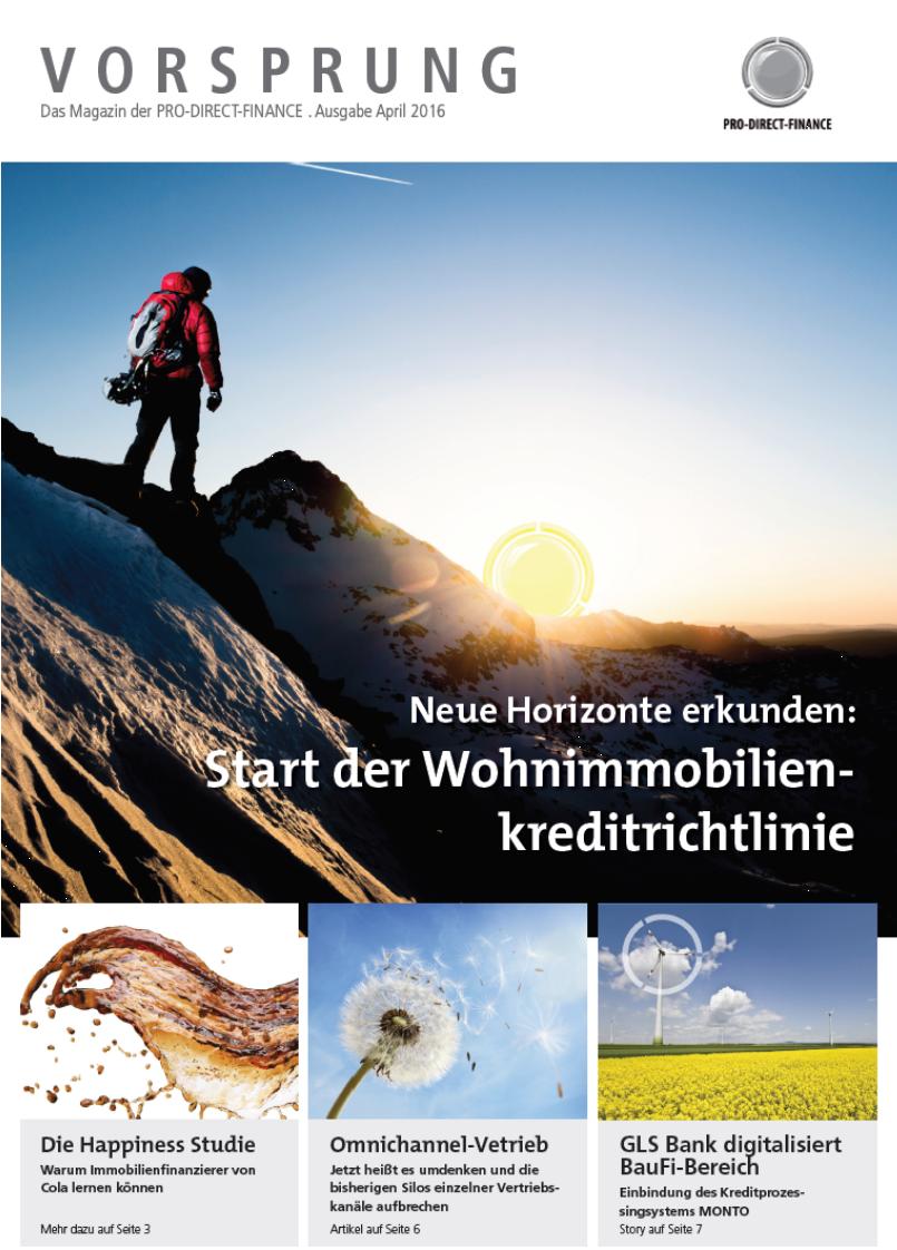 Magazin Wohnimmobilienkreditrichtlinie