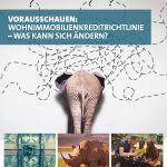 Titelblatt des Magazins Vorsprung Wohnimmobilienkreditrichtlinie