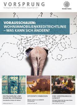 Titelblatt des Magazins Vorsprung